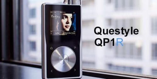 Questyle QP1R zilver display