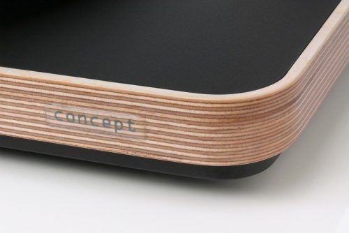 clearaudio concept wood detail