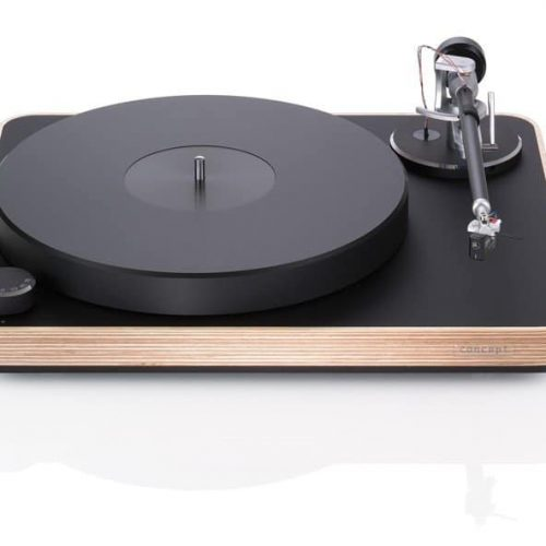 clearaudio concept wood front