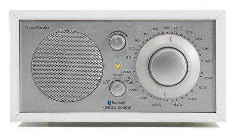 tivoli audio model one bt wit zilver bluetooth