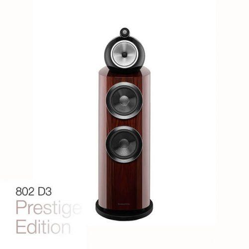 Bowers & Wilkins 802 D3 Prestige Editie Santos Rosewood Vloerstaande Luidspreker Zuil Speaker Sound Gallery