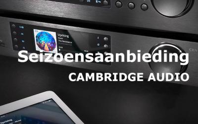 Seizoensaanbieding Cambridge Audio