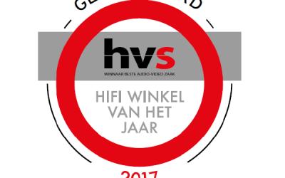 Genomineerd voor Hifi Winkel van het Jaar