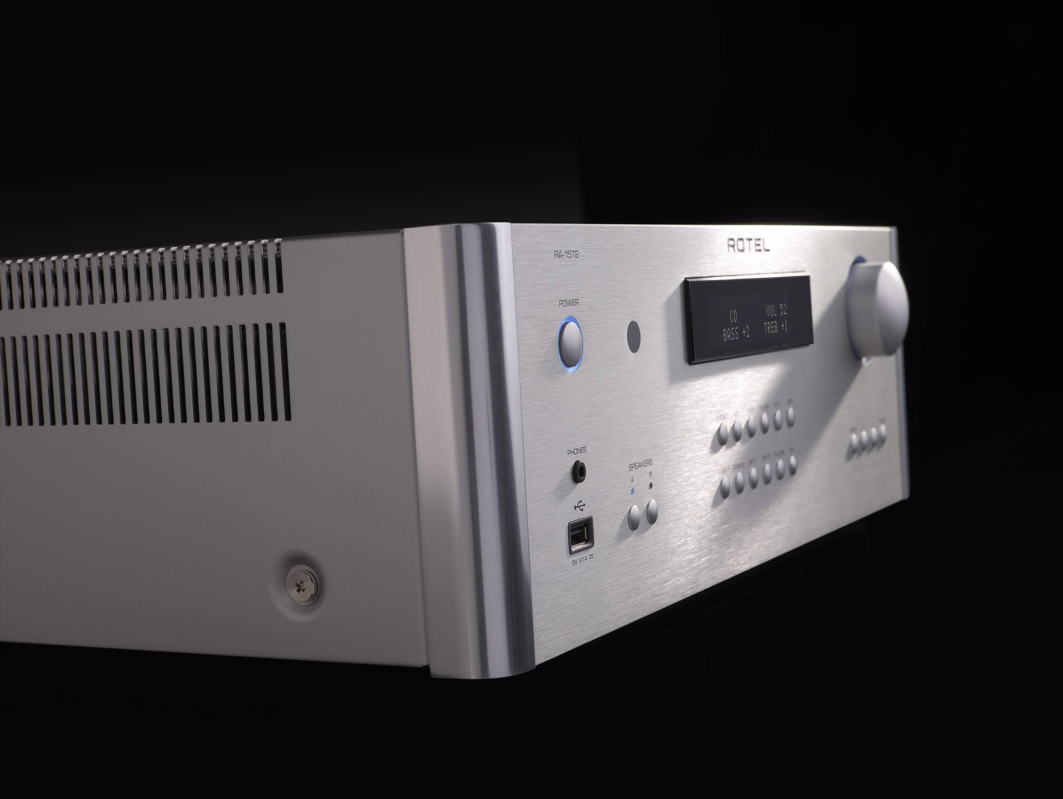 Hook up versterker aan component speakers