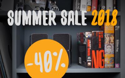 Summer Sale 2018 | Tot 40% korting in juli en augustus