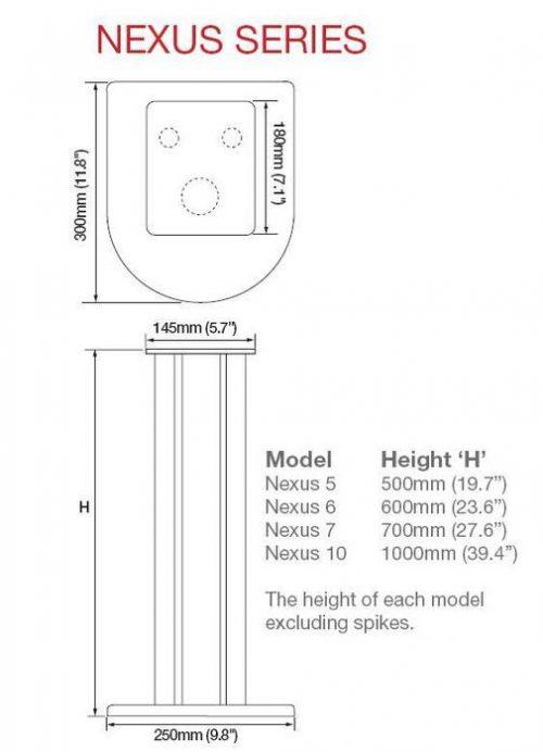 Atacama Nexus 5i Luidsprekerstandaard