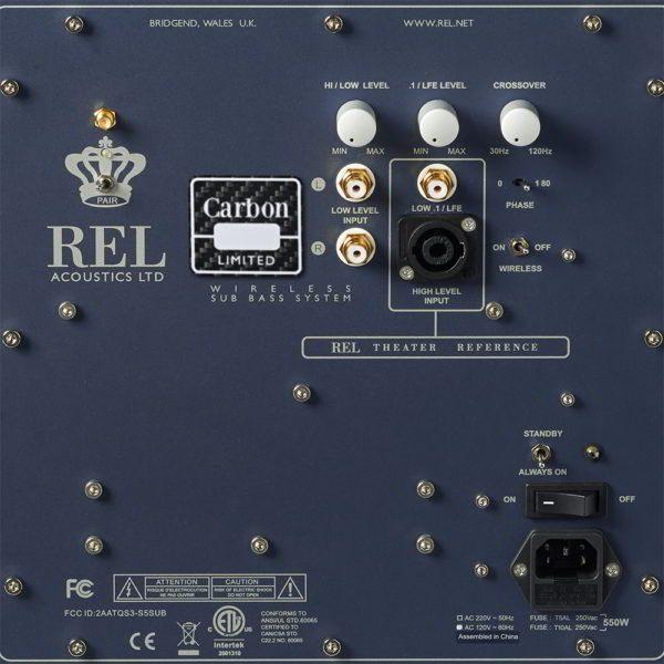 REL Carbon Limited Actieve Subwoofer