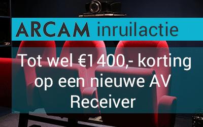 Inruilactie | Korting op een nieuwe Arcam AV Receiver