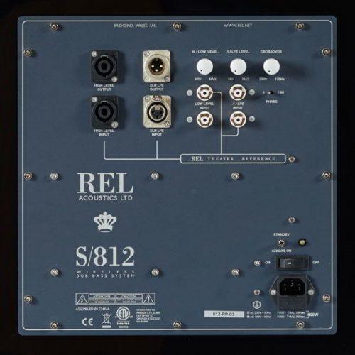 REL S812 Actieve Subwoofer 800 Watt
