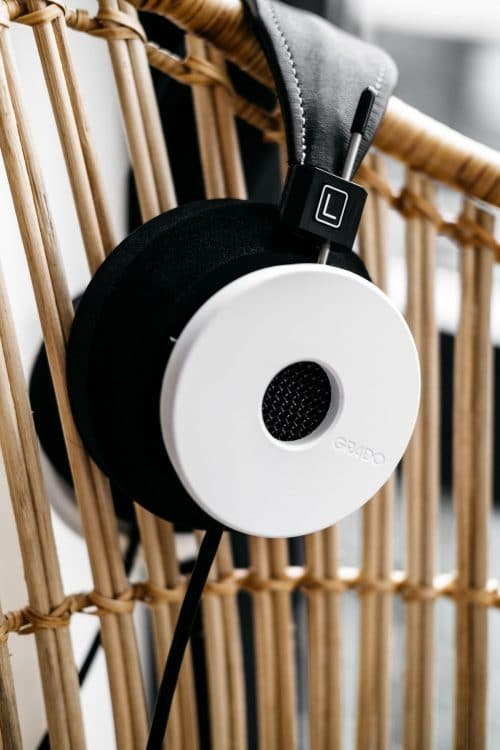Grado The White Headphone Limited Edition Hoofdtelefoon