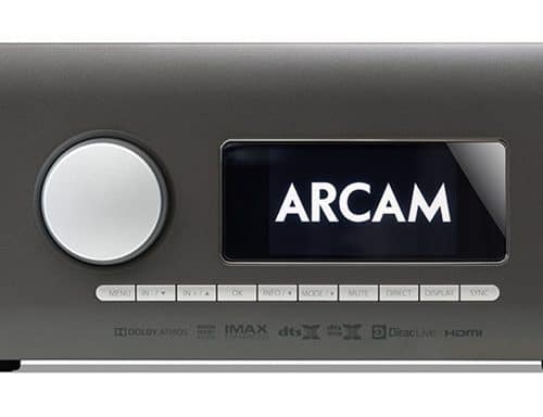 Arcam AVR10 AV Receiver Surround Receiver Dirac Live Google Cast uPnP Sound Gallery