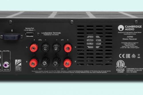 Cambridge Audio AXR85 Stereo Receiver Tuner Versterker Luna Grey