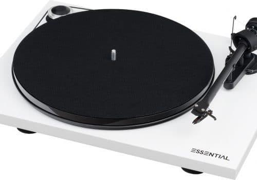 Pro-Ject Essential III SB Platenspeler Draaitafel Ortofon OM10 Sound Gallery
