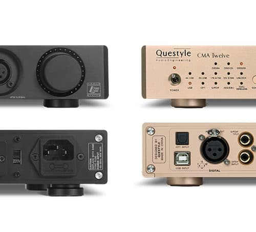 Questyle CMA Twelve Hoofdtelefoonversterker DAC DA Converter Headphone Amplifier Voorversterker Sound Gallery