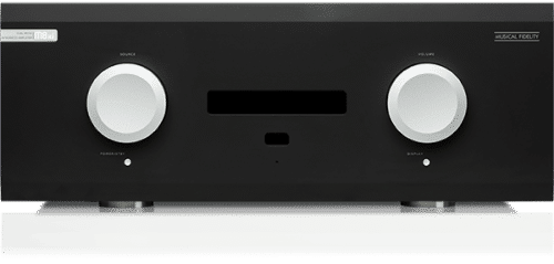 Musical Fidelity M8xi Zwart Geïntegreerde Stereo Versterker Dual Mono Sound Gallery