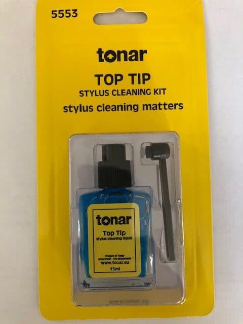Tonar Top Tip Stylus Cleaning Kit 5553 Naalden reiniger Pickup Draaitafel Platenspeler Element Reinigingsvloeistof Sound Gallery Thumbnail